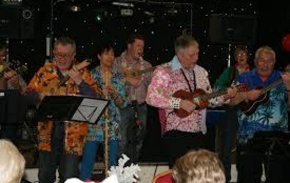 Simply Saturday Presents....Sandy Ukulele Group 1st June (Little Paxton Church)